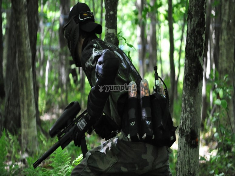 Airsoft manoeuvres