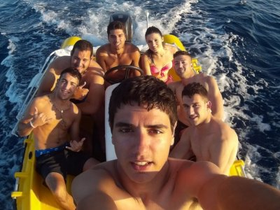 Boat ride Cabo de Gata all day 8 people