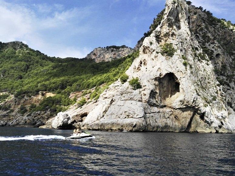 Salida en moto de agua por la Bahía de Alcudia