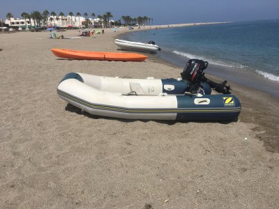 Zodiac Rental no license Cabo de Gata 1 day