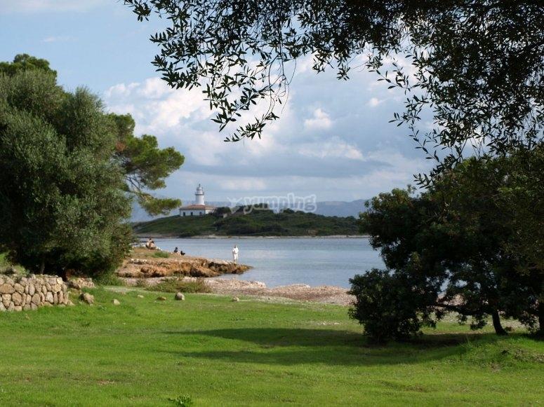 Faro de Alcanada
