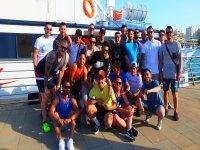 Paintball, fiesta en catamarán y comida en Gandía