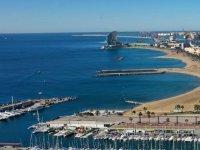 巴塞罗那港景