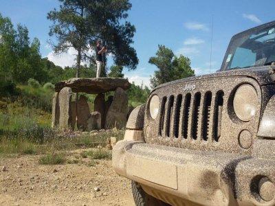 Ruta en 4x4 y descenso en barranco en Lleida