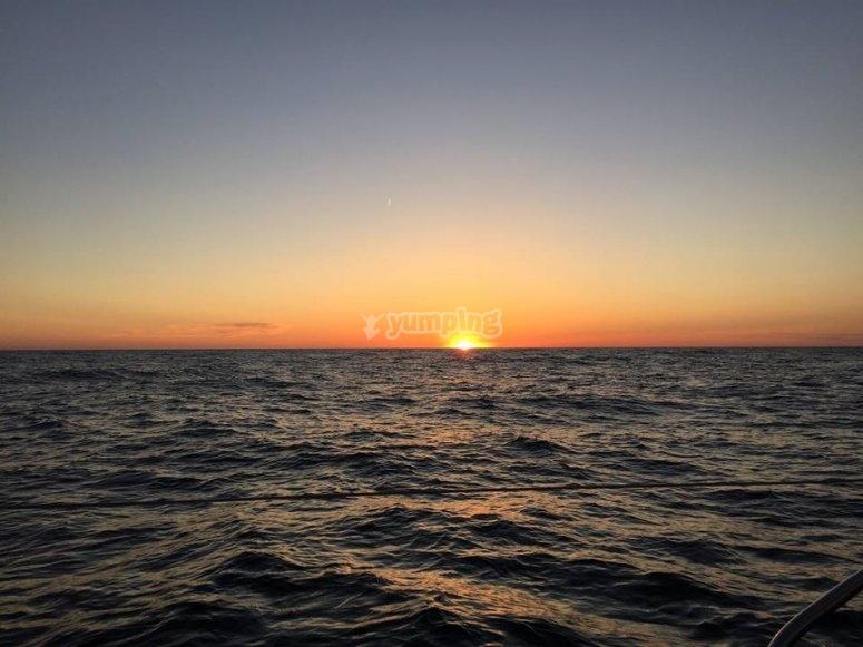 Magnificas puestas de sol