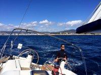 Alquiler de velero en Girona por día mes de agosto