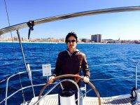Alquiler de barco de vela Girona por un día Agosto