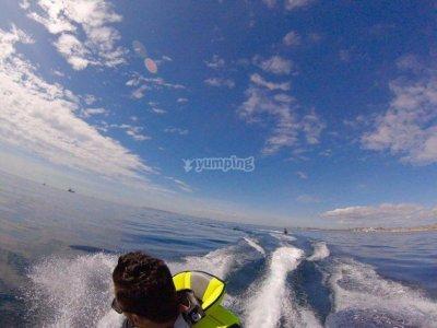 Ruta guiada en moto de agua por la Costa Blanca 2h