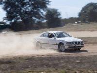 BMW Levantando polvo