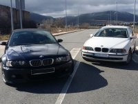 BMWs black and white