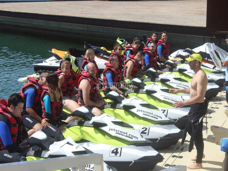 La nostra flotta di moto d'acqua