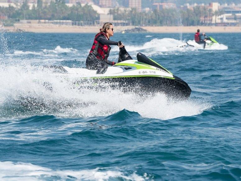 Noleggio di moto d'acqua a Barcellona