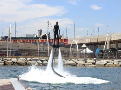 Flyboarding en Port Fórum Barcelona 15 minutos