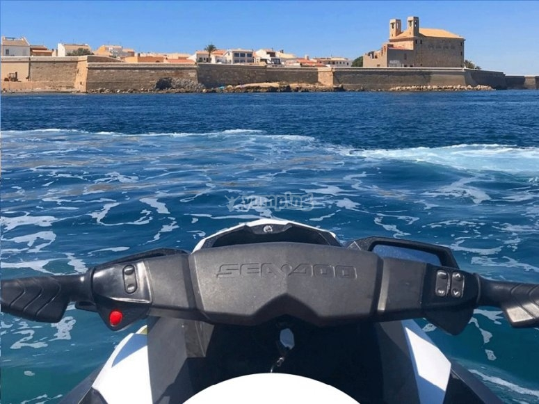 Jet-Ski route for two in Alicante