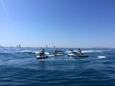 Excursión en moto de agua por Alicante 1 hora