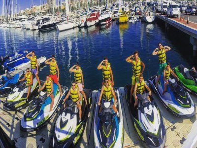 Jet-ski tour of Tabarca with lunch 2 hours