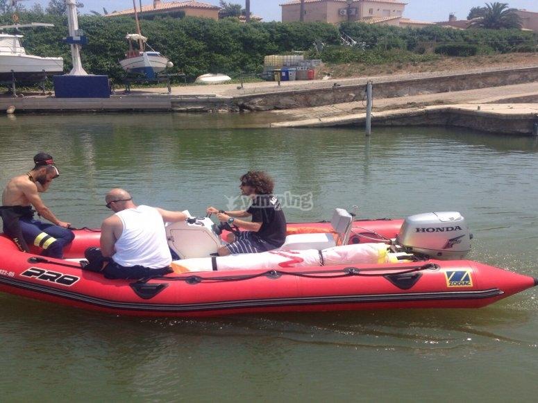 Classe con barca