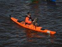 Clase práctica de Kayak en Embalse del Agrio