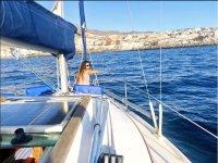 在特内里费岛航行