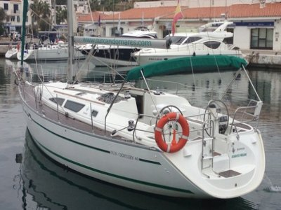 Sailboat rental in the Port of Sitges 1 day