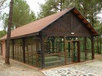 营地的餐厅