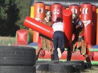 Facing the gladiators