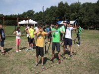 In the archery line