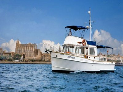 4h boat trip tour in Majorca