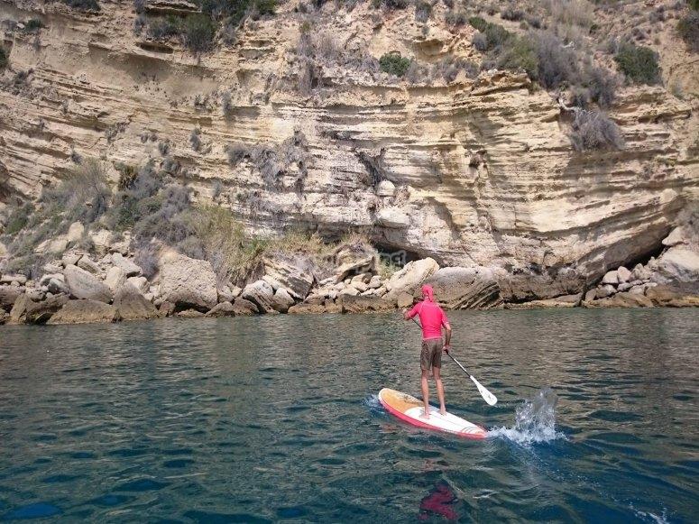 Paddle surf y una buena vista