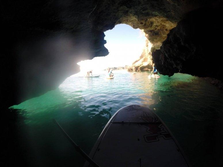 Podras entrar a las cuevas incluso