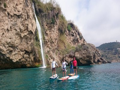 Stand up paddle surfing camp, Costa del Sol