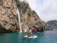 Explore amazing spots while stand up paddle surfing