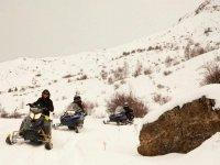 雪雪地摩托路线