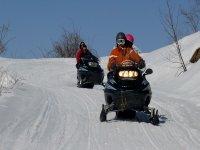 moto de nieve  VALLE DE TENA