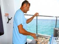 在船上烹饪