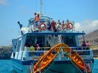 Divertidísimo paseo en barco