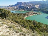 Route around the Caminito del Rey surroundings