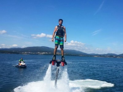 Flyboard costa gallega con paddle surf