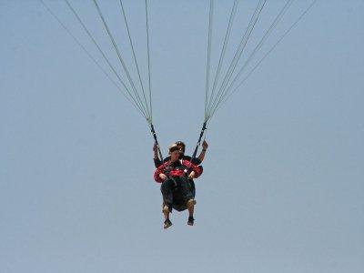 Alarilla最初的滑翔伞课程