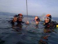 preparazione dell'immersione