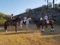Equestrian excursion through Cullera