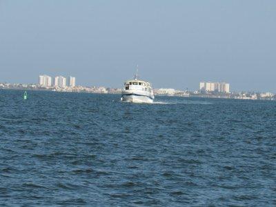 Traghetto sul Mar Menor con foto