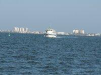 Ferry tour across the Mar Menor to take photos