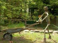 esculturas del parque
