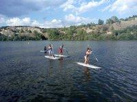Inicación de paddle surf en Embalse de Los Ángeles