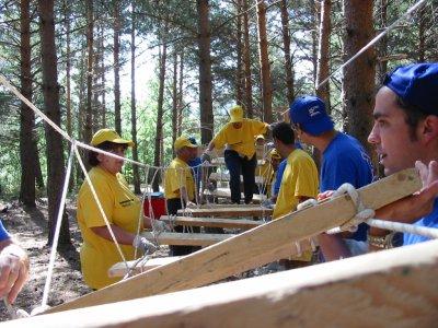 Costruzione di ponti, team building a Madrid