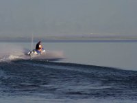 En la costa de Mallorca en moto de agua