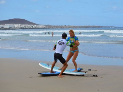 Surfing Course w. Private Teacher in Teguise