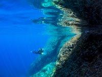 Inmersion en aguas de Mallorca