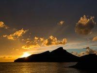 Puesta de sol en Mallorca
